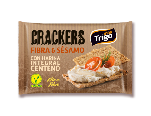 Crackers Fibra & Sésamo