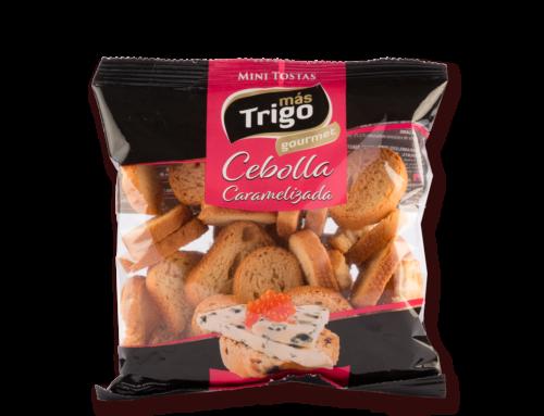 Mini Tostas de Cebolla Caramelizada